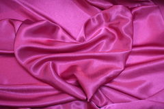 Coração cor-de-rosa - fotos românticas do estoque do cartão do Valentim Fotografia de Stock
