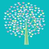 Coração da árvore Foto de Stock