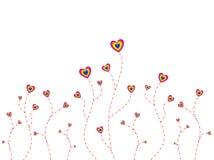 Coração da árvore Imagens de Stock