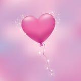 Coração da bola ilustração royalty free