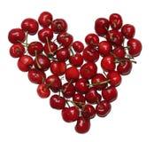 Coração da cereja Foto de Stock
