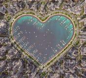 Coração da cidade Imagem de Stock