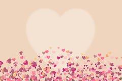 Coração da cor Fotos de Stock