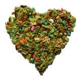 Coração da erva-doce Fotografia de Stock