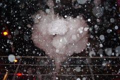 Coração da espuma Fotos de Stock