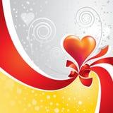 Coração da fita Fotos de Stock Royalty Free