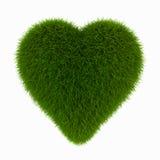 Coração da grama ilustração stock