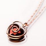 Coração da jóia Foto de Stock Royalty Free
