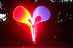 Coração da luz Fotos de Stock Royalty Free