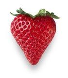 Coração da morango Imagem de Stock Royalty Free