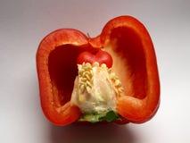 Coração da paprika Imagens de Stock Royalty Free