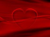 Coração da seda Foto de Stock