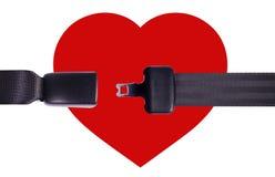 coração da segurança Imagem de Stock