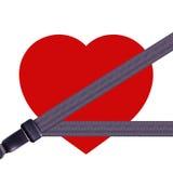 coração da segurança Foto de Stock Royalty Free