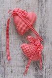 Coração da tela para o dia de Valentim Fotos de Stock