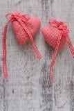 Coração da tela para o dia de Valentim Imagem de Stock