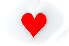 Coração dado forma Foto de Stock Royalty Free