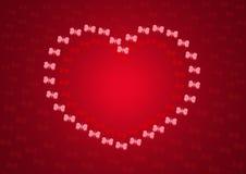 Coração das borboletas Imagem de Stock