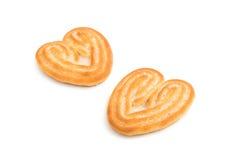 Coração das cookies foto de stock royalty free