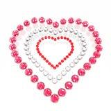 Coração das esferas enamoured Foto de Stock