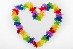 Coração das flores foto de stock royalty free