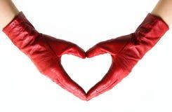 Coração das mãos Imagens de Stock Royalty Free