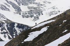 Coração das montanhas de Hohe Tauern, Áustria Imagens de Stock