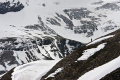 Coração das montanhas de Hohe Tauern em Áustria Imagens de Stock