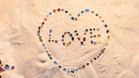 Coração das pedras Foto de Stock Royalty Free