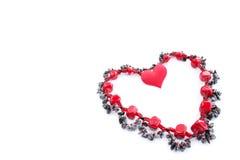 Coração das pedras semipreciosas Foto de Stock Royalty Free