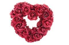 Coração das rosas Imagens de Stock