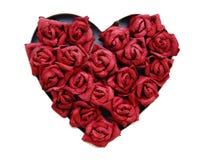 coração das rosas fotos de stock