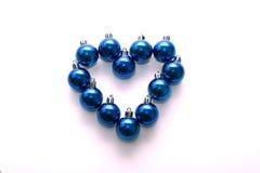 Coração de Cristmas Foto de Stock Royalty Free