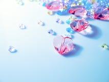 Coração de Cystal Foto de Stock