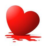 Coração de derretimento ilustração royalty free
