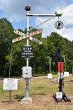 Coração de Dixie Railroad Museum em Alabama Imagens de Stock