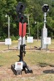 Coração de Dixie Railroad Museum em Alabama Foto de Stock Royalty Free