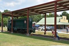 Coração de Dixie Railroad Museum em Alabama Fotos de Stock Royalty Free