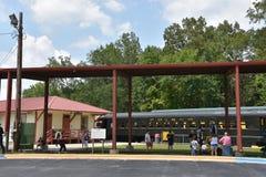 Coração de Dixie Railroad Museum em Alabama Imagem de Stock Royalty Free