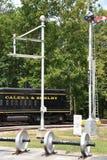 Coração de Dixie Railroad Museum em Alabama Fotografia de Stock Royalty Free