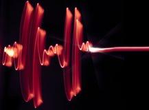 Coração de ECG Foto de Stock Royalty Free