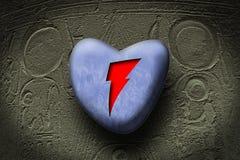 Coração de Egipto Ilustração do Vetor
