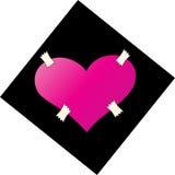 Coração de Emo Imagens de Stock Royalty Free