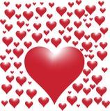 Coração de florescência imagem de stock royalty free