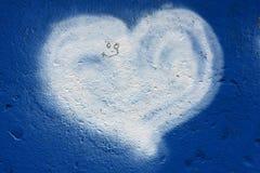 Coração de Grafity Foto de Stock