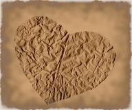 Coração de Grunge Fotografia de Stock Royalty Free