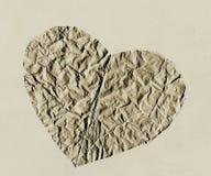 Coração de papel Foto de Stock
