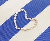 Coração de pedras apresentado Imagem de Stock Royalty Free