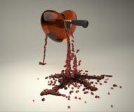 Coração de sangramento Foto de Stock Royalty Free