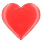 Coração de seda Imagens de Stock Royalty Free